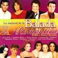 BALADA ROMANTICA – HOMENAJE A MANUEL ALEJANDRO — LO ESENCIAL DE (3CD'S 1 DVD)