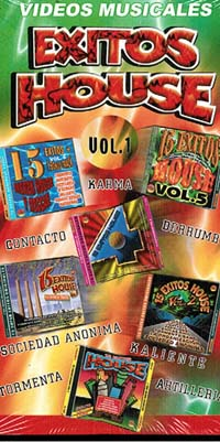 VIDEOS MUSICALES – EXITOS HOUSE VOL 1 (VHS)