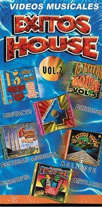 VIDEOS MUSICALES – EXITOS HOUSE VOL 2 (VHS)