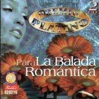 PREMIO PLATINO – PARA LA BALADA ROMANTICA (2CDS)