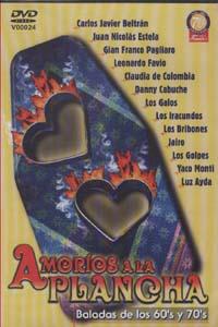 AMORIOS A LA PLANCHA – BALADAS DE LOS 60'S Y 70'S (DVD