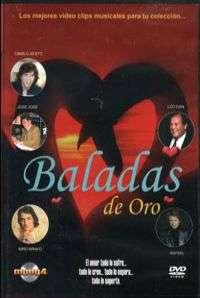 BALADAS DE ORO – VOL. 2 — (DVD)