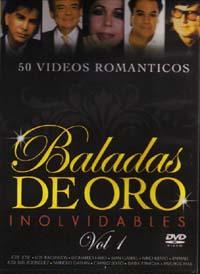 BALADAS DE ORO INOLVIDABLES – 50 VIDEOS ROMANTICOS (DVD) VOL 1