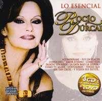 ROCIO DURCAL – LO ESENCIAL (3 CD'S 1 DVD) 62 TEMAS Y 20 VIDEOS