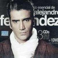 ALEJANDRO FERNANDEZ – LO ESENCIAL DE (3CD'S 1 DVD)