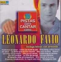 LEONARDO FAVIO – PISTAS PARA CANTAR