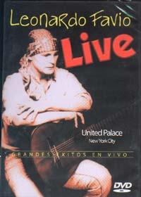 LEONARDO FAVIO – GRANDES EXITOS EN VIVO (DVD) United Palace, New York