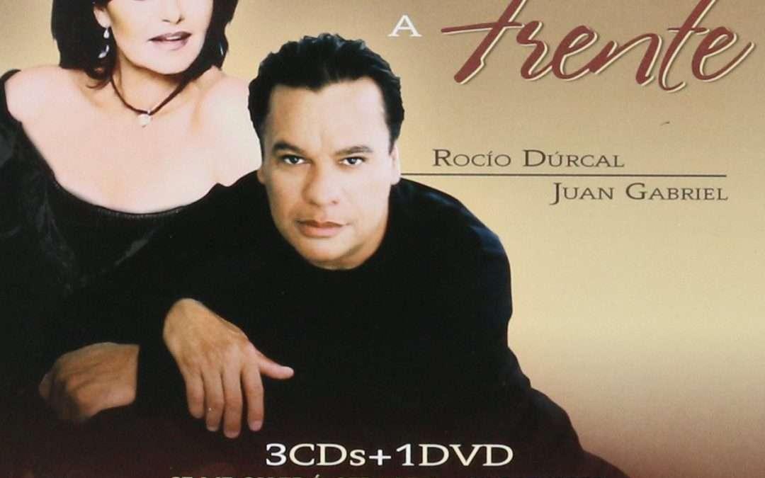 ROCIO DURCAL Y JUAN GABRIEL – FRENTE A FRENTE (3CD'S 1 DVD)