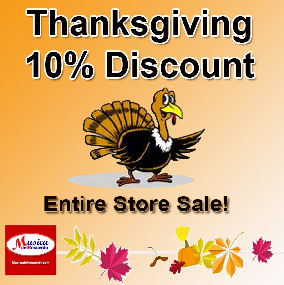 Thanksgiving 10% Bonus Discount For the Entire Store